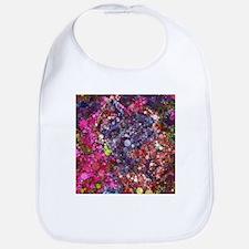 bubble mosaic Bib