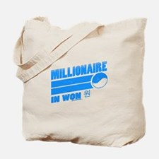 Millionaire in Won Tote Bag