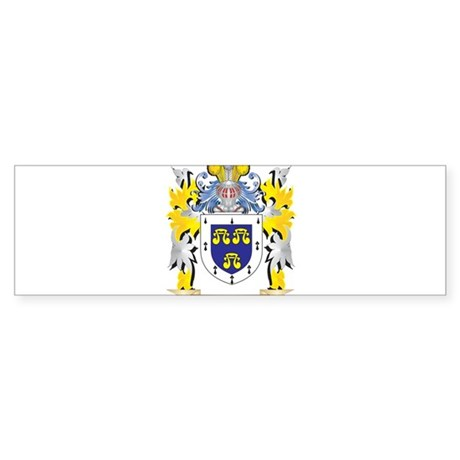 Brickman Coat of Arms - Family Cres Bumper Sticker