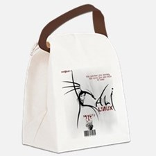 Kali Linux Logo Canvas Lunch Bag