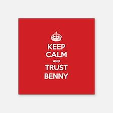 Trust Benny Sticker