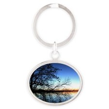 Nature Oval Keychain