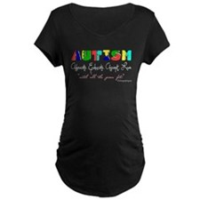 Autism Acceptance Support Maternity T-Shirt