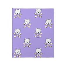 Torrid Westie Purple Throw Blanket