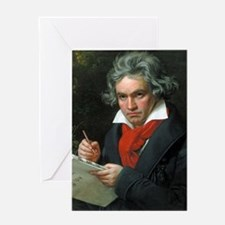Beethoven Greeting Card