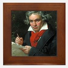 Beethoven Framed Tile