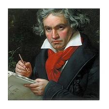 Beethoven Tile Coaster