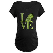 Palm Sunday Love Icon Maternity T-Shirt