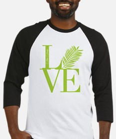 Palm Sunday Love Icon Baseball Jersey