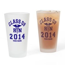 Class Of 2014 RN Drinking Glass