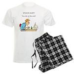 The Angriest Programmer Men's Light Pajamas