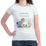 The Angriest Programmer Jr. Ringer T-Shirt