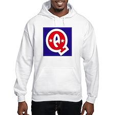 Patriotic Monogram Q Hoodie