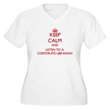 Keep Calm and Listen to a Corporate Librarian Plus