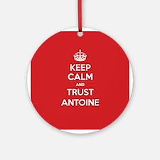 Trust Antoine Ornament (Round)