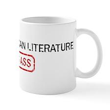 AFRICAN AMERICAN LITERATURE k Mug