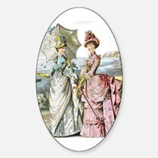 Duo of Victorian Ladies Stickers