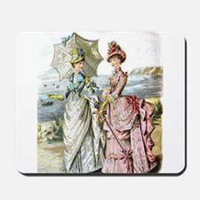 Duo of Victorian Ladies Mousepad