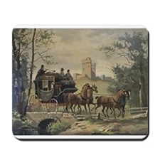 Castle And Coach Northanger Abbey Mousepad
