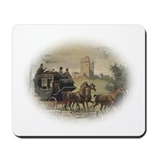 Portrait of Northanger Abbey Coach Mousepad