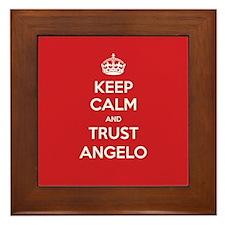 Trust Angelo Framed Tile