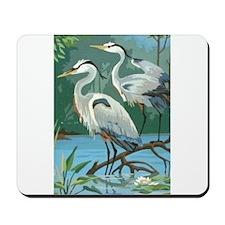Egrets Mousepad