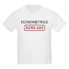 ECONOMETRICS kicks ass T-Shirt