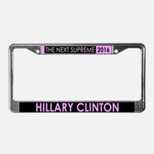 Hillary Supreme 2016 License Plate Frame