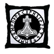 Mjolnir Throw Pillow