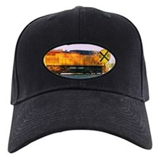 Railroad Crossing Baseball Hat Cap