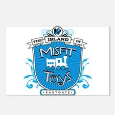 Island of Misfit Toys Postcards (Package of 8)
