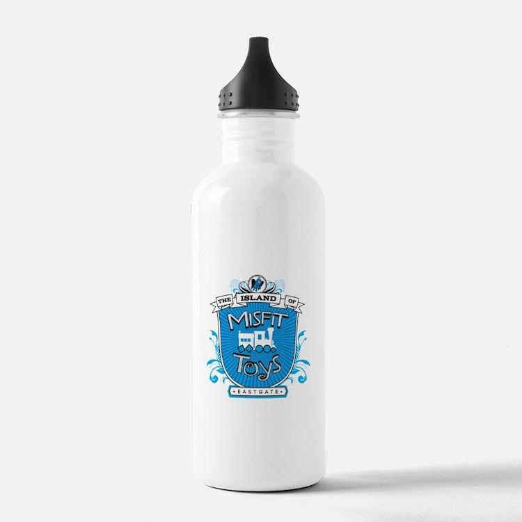 Island of Misfit Toys Water Bottle