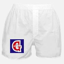 Patriotic Monogram G Boxer Shorts