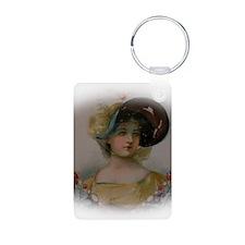 Regency Lady in Portrait Keychains