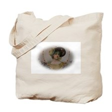 Regency Lady in Portrait Tote Bag