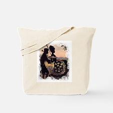 The Georgian Swing in Portrait Tote Bag