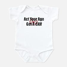 Get A Car Infant Bodysuit