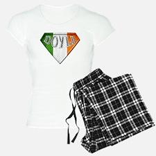 Doyle Irish Superhero Pajamas