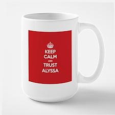 Trust Alyssa Mugs