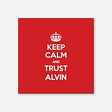Trust Alvin Sticker