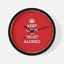 Trust Alonzo Wall Clock