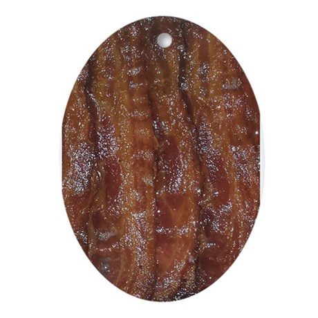 Bacon Ornament (Oval)