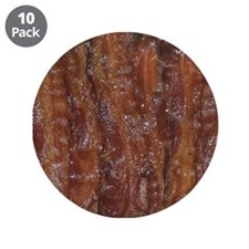 "Bacon 3.5"" Button (10 pack)"