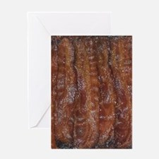 Bacon Greeting Card