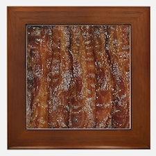 Bacon Framed Tile