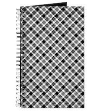 Black and White Plaid Journal