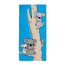 Koala Bears Beach Towel