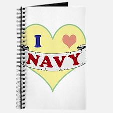 I Heart Navy Journal