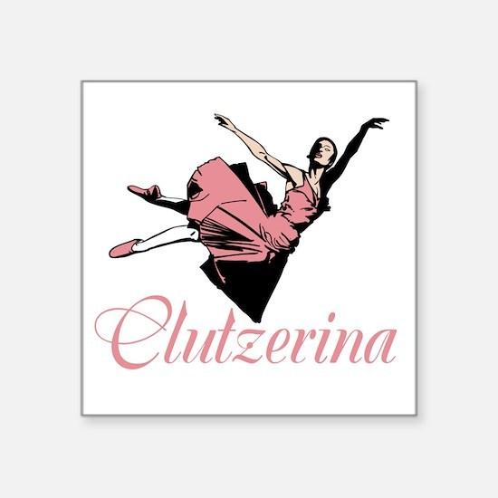 Clutzerina the Graceful Sticker