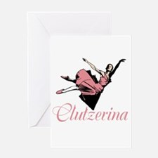 Clutzerina the Graceful Greeting Cards